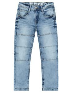 Jungen Jeans mit Ziernähten