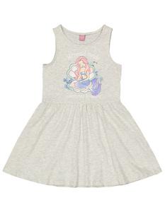 Mädchen Kleid mit Meerjungfrau-Print