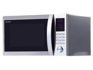 Sharp Mikrowelle, 20 l Fassungsvermögen, 800 Watt Leistung, mit 8 Automatikprogrammen