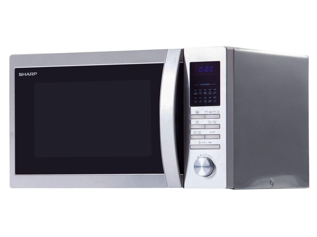 Bild 1 von Sharp Mikrowelle, 20 l Fassungsvermögen, 800 Watt Leistung, mit 8 Automatikprogrammen