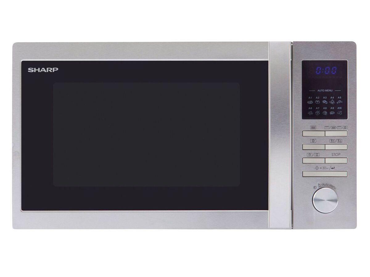 Bild 2 von Sharp Mikrowelle, 20 l Fassungsvermögen, 800 Watt Leistung, mit 8 Automatikprogrammen