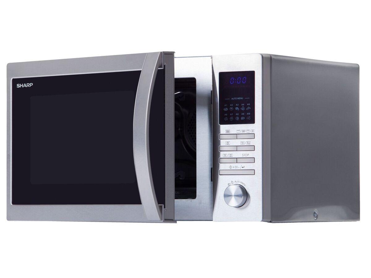 Bild 3 von Sharp Mikrowelle, 20 l Fassungsvermögen, 800 Watt Leistung, mit 8 Automatikprogrammen