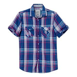 Herren-Hemd mit aufgesetzten Pattentaschen