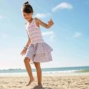 Bild 1 von Kinder-Mädchen-Kleid mit luftigem Stufenrock