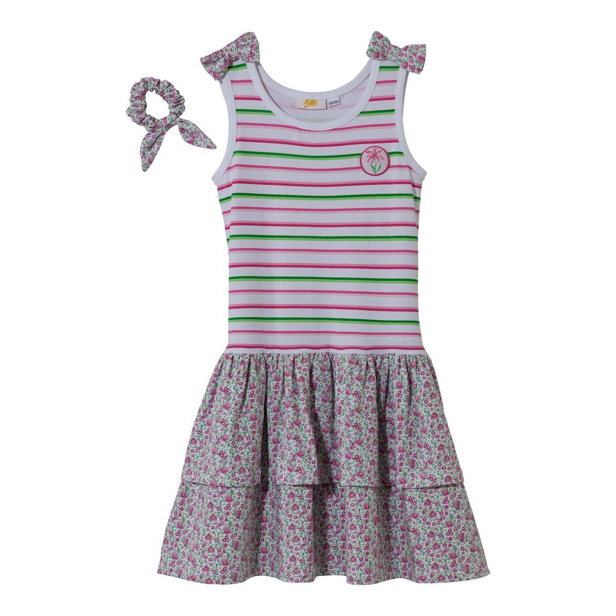 Bild 2 von Kinder-Mädchen-Kleid mit luftigem Stufenrock
