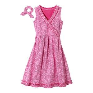 Kinder-Mädchen-Kleid mit hübschen Rüschen