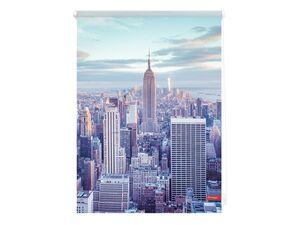 Lichtblick Klemmfix Rollo »New York«, Sicht- und Blendschutz, lichtdurchlässig, ohne Bohren