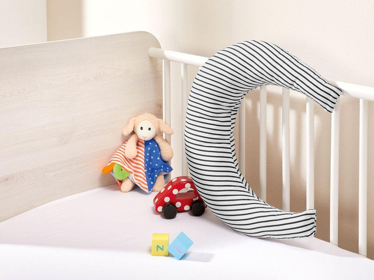 Bild 4 von MERADISO® Baby Mondkissen,  vielseitig einsetzbar, pflegeleicht, aus Baumwolle