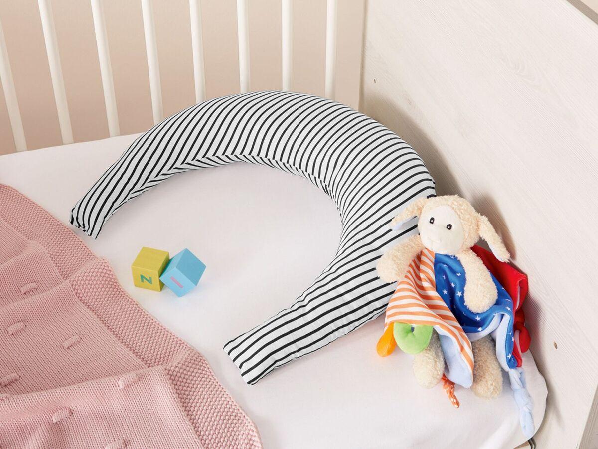 Bild 5 von MERADISO® Baby Mondkissen,  vielseitig einsetzbar, pflegeleicht, aus Baumwolle