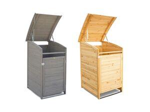 HABAU Mülltonnenbox, 65 x 115 x 75 cm, mit Zinkdach, 120 Liter