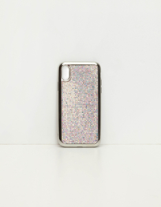 iPhone-Hülle mit Strass