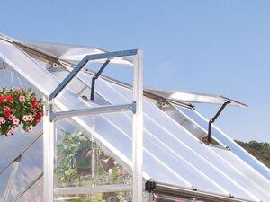 Palram Gewächshaus »Balance«, Aluminiumkonstruktion, mit Polycarbonat-Dach, UV-beständig