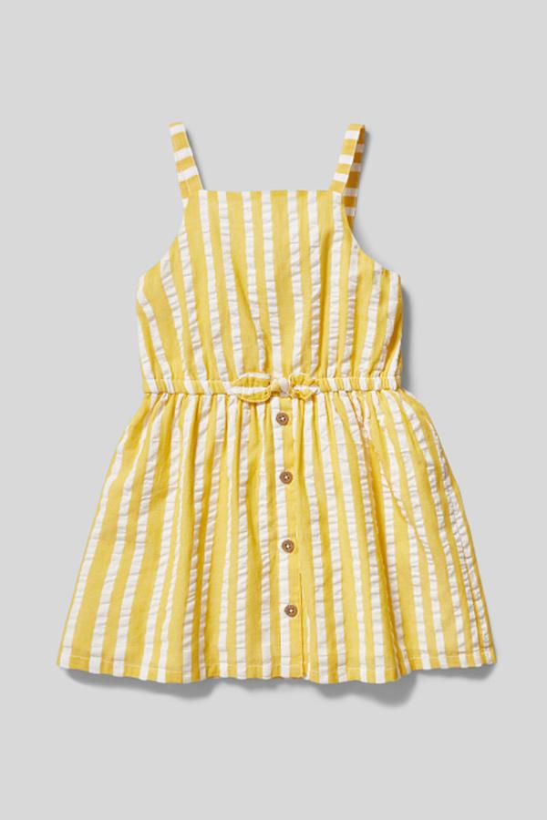 Kleid - gestreift