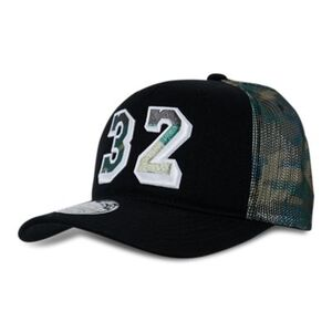 Mitchell and Ness NBA Camo Trucker Los Angeles Lakers - Unisex Kappen