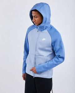 Nike Tech Fleece Color Block Full Zip - Herren Hoodies