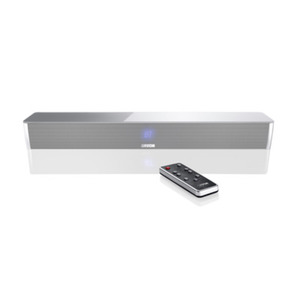Canton DM 5 (silber) - 2.1 Virtual Surround System (120 Watt, Bluetooth 3.0 (apt-X), Digitaleingang)