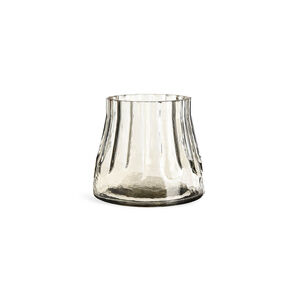 Teelichtglas Lisbon, D:9cm x H:8cm, grau-grün