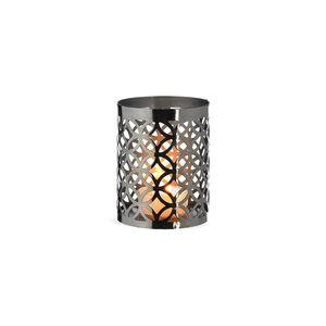 Teelichthalter Glamorous, D:7cm x H:9cm, silber