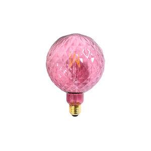 LED Glühbirne Riffel, rosa