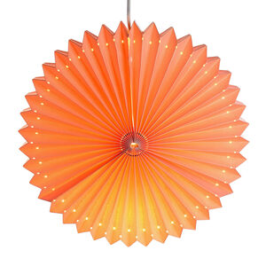 Lichtobjekt Laterne, D:40cm, rosa