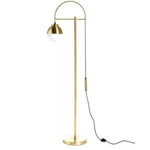 Stehleuchte, H:160cm, gold