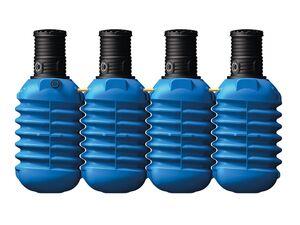 4rain Erdtank »MODULARIS«, für Regenwasser, 10000 Liter Volumen, inklusive PE-Deckel