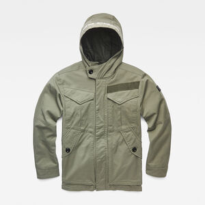 Hooded Jacke