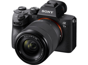 SONY Alpha 7 M3 KIT (ILCE-7M3K) Systemkamera 24.2 Megapixel mit Objektiv 28 - 70 mm , 7.5 cm Display   Touchscreen, WLAN