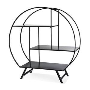 Regal Shapes, 54x24,5x50,5cm, schwarz