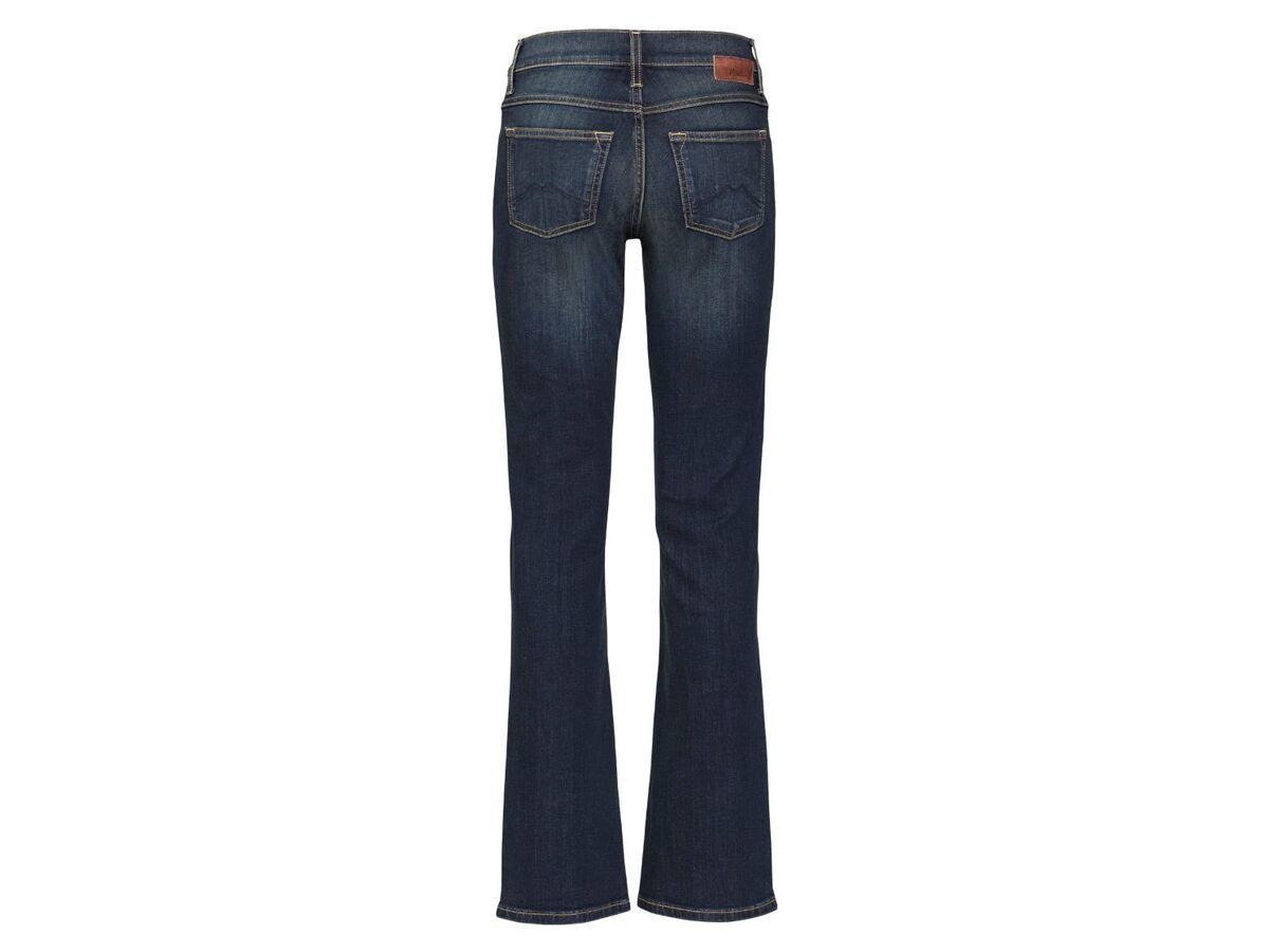 Bild 2 von Mustang Jeans Damen »Sissy Boot«, Comfort Fit, mit Lederpatch, hoher Baumwollanteil