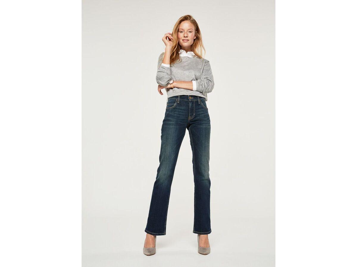 Bild 3 von Mustang Jeans Damen »Sissy Boot«, Comfort Fit, mit Lederpatch, hoher Baumwollanteil
