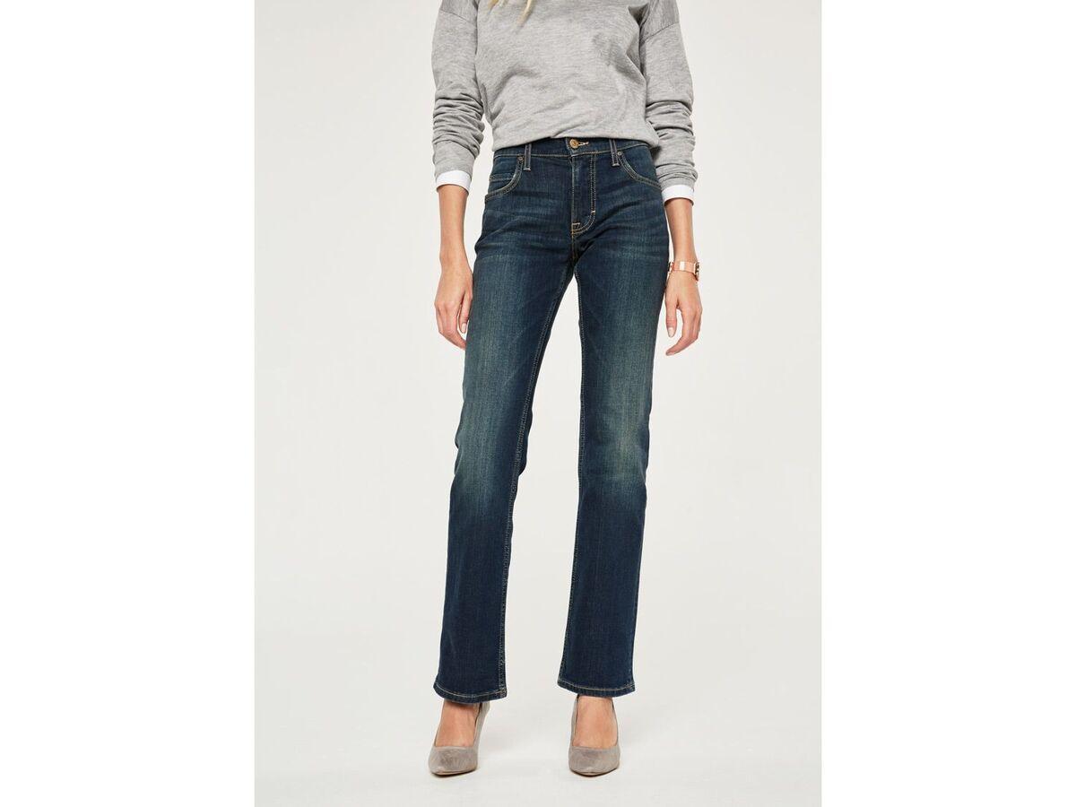 Bild 5 von Mustang Jeans Damen »Sissy Boot«, Comfort Fit, mit Lederpatch, hoher Baumwollanteil