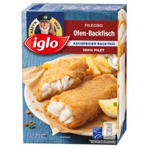 Iglo Filegro Ofen-Backfisch