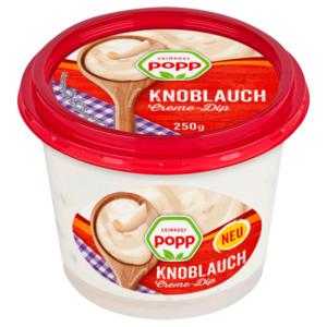 Popp Knoblauch Creme-Dip oder Aioli