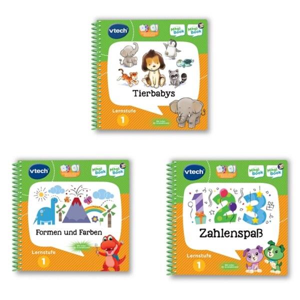 MagiBook-Lernbuch-Bundle: 3 Bücher der Lernstufe 1