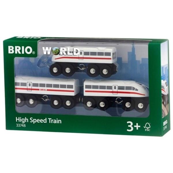 BRIO - Schnellzug mit Sound, 3-tlg.
