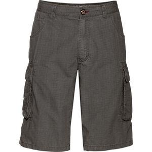 Globetrotter Cargo-Bermudas, Struktur-Muster, aufgesetzte Taschen, für Herren