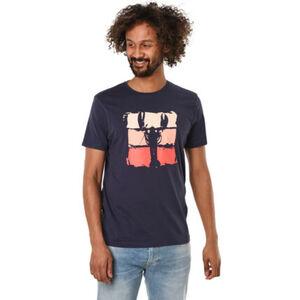 MANGUUN T-Shirt, Rundhals, Print, für Herren