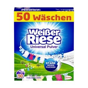 Weißer Riese Waschmittel 50 Waschladungen, versch. Sorten,  jede Packung/Flasche