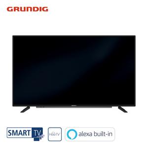 32 GFB 6060 – Fire TV Edition (UVP angefordert) • FullHD-TV • 3 x HDMI, 2 x USB, CI+ • integr. Kabel-, Sat- und DVB-T2-Receiver • Maße: H 44,3 x B 73,5 x T 7,6 cm • Energie-Effizienz A (