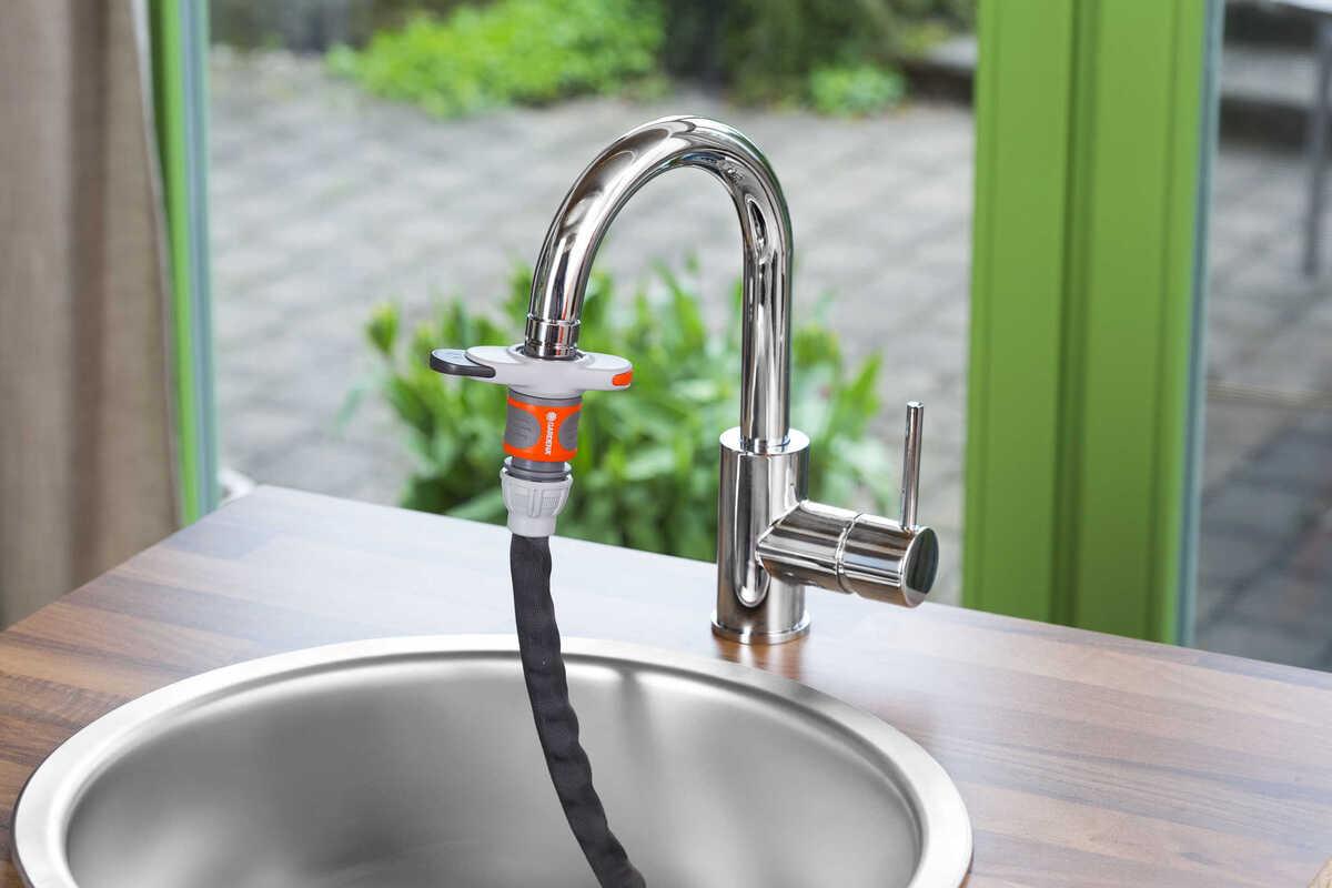 Bild 2 von GARDENA  Hahnverbinder für Indoor-Wasserhähne
