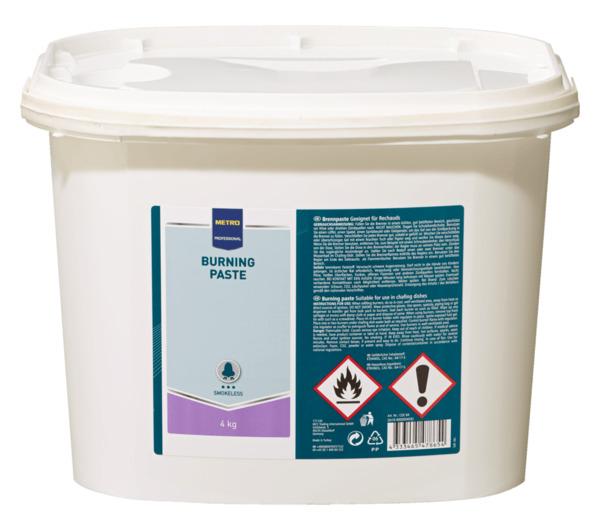 METRO Professional Brennpaste - 4 kg Eimer