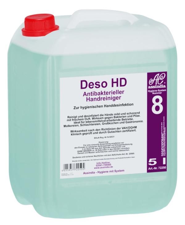 Deso HD Desinfizierender Handreiniger 5l Hände Desinfektion