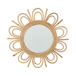 COTTAGE Spiegel blumenförmig Ø52cm
