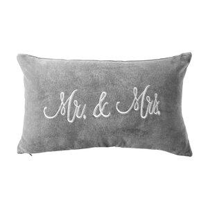 MR. & MRS. Kissen Samt Mr. & Mrs. L 50 x B 30cm