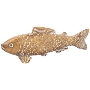 Dekofigur Fisch in Gold-Optik