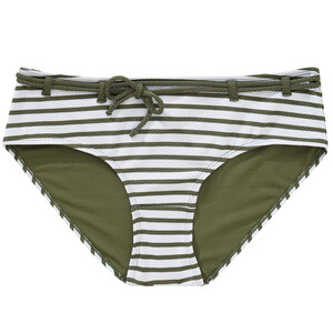 Damen Bikinipanty mit Streifen
