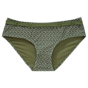 Damen Bikinipanty mit Punkte-Allover