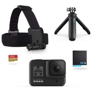 GoPro Hero 8 Black Black Holiday Bundle Action Cam wasserdicht Sprachsteuerung