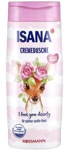 ISANA Cremedusche i love you deerly